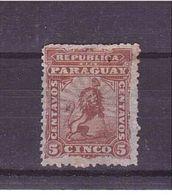 PARAGUAY  1879-81     Yvert Cat N° 10 Mint   Hinged - Cars