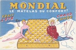 ---- BUVARD ---  Mondial Matelas Confort TTBE - Buvards, Protège-cahiers Illustrés
