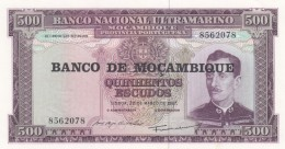 Mozambique #S118 500 Escudos (1976) Banknote - Mozambique