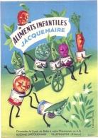 ---- Document Publicicté Aliments Infantiles JACQUEMAIRE  TTBE Illustrateur DELAGE Fermé 21cmx29cm - Enfants