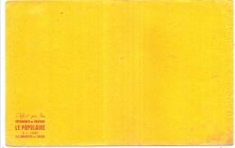 ---- BUVARD --- Vétements De Travail Le Populaire  TB - Textile & Vestimentaire