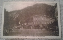 Un Saluto Dai Bagni Di Porretta Animata 1923 - Bologna