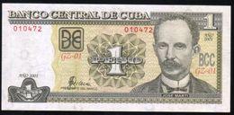 Caribe  / 1 PESO 2001 REPLACEMENT Serie GZ-01 010472 PICK NEW UNC - Cuba