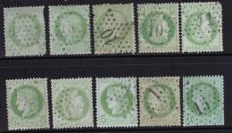 Divers Lot D'etoiles Sur Ceres #6 - 1849-1876: Période Classique