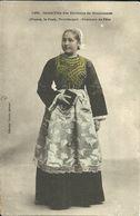 PLOARE  -- Jeune Fille, Costume De Fête (Ploaré, Juch, Pouldergat)                                 -- Villard 1269 - France