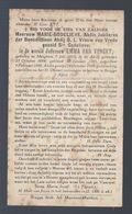 DP VAN VYNCKT ABDIS JUBILARIS DER BENEDICTINEN ABDIJ O.L. VROUW VAN VREDE GEZEID Ste GODELIEVE ° MEIGHEM 1863 + 1927 - Images Religieuses