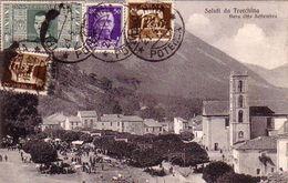 TRCCHINA-POTENZA-FIERA 8 SETTEMBRE-CARTOLINA VIAGGIATA IL 1-10-1936 - Potenza