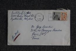 Lettre Des ETATS UNIS ( WASHINGTON) Vers FRANCE - Cartas