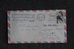 Lettre Des ETATS UNIS ( NEW YORK ) Vers FRANCE - Cartas