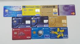 MEXICO - 10 BANK CARDS - FOR COLLECTION - Geldkarten (Ablauf Min. 10 Jahre)