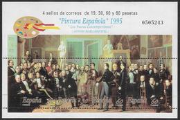 Spain SG MS3359 1995 Art Miniature Sheet Unmounted Mint [36/30134/6D] - 1931-Today: 2nd Rep - ... Juan Carlos I
