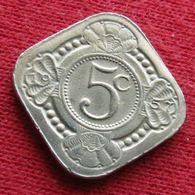 Netherlands Antilles 5 Cents 1957  Antillen Antilhas Antille Antillas Wºº - Netherland Antilles