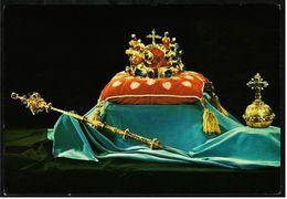 Prag / Praha  -  Kronjuwelen  -  Krone Aus Dem 16. Jahrhundert  -  Ansichtskarte Ca.1970   (8175) - Czech Republic