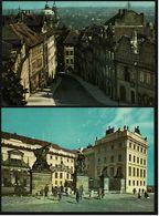 2 X Prag / Praha - Tor Des Ehrenhofes Der Prager Burg - Nerudagasse Auf Der Kleinseite - Ansichtskarten Ca.1970   (8180) - Czech Republic