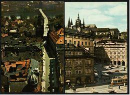 2 X Prag / Praha - Kleinseitner Ring - Karlsbrücke / Brückengasse Auf Der Kleinseite  -  Ansichtskarten Ca.1970   (8179) - Czech Republic