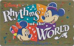 Télécarte Dorée Japon / MF-1002130 - DISNEY SEA - RHYTHMS OF THE WORLD - Japan GOLD Phonecard - Disney