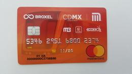 MEXICO - METRO - RECHARGEABLE CARD - MASTERCARD - RARE - Abonos