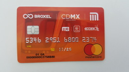 MEXICO - METRO - RECHARGEABLE CARD - MASTERCARD - RARE - Abbonamenti