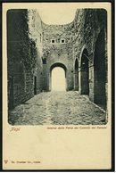 Nepi  -  Interno Della Porte Del Castello Dei Farnesi  -  Ansichtskarte Ca.1900   (8151) - Viterbo