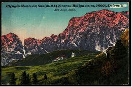 Rifugio Monte Da Sus  -  Alto Adige / Dolomiti  -  Ansichtskarte Ca. 1930    (8167) - Bolzano (Bozen)