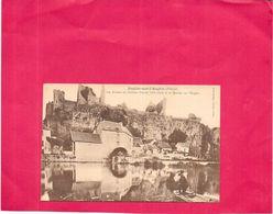 ANGLES SUR L'ANGLIN  - 86 -  Les Ruines Du Chateau Féodal Et Le Moulin Sur L'Anglin  - NANT4  - - Sonstige Gemeinden