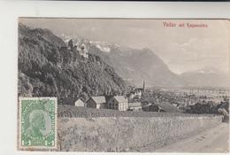 Liechtenstein / Postcards / Austria - Liechtenstein