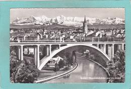 Small Antique Postcard Of Eisenbahnbrucke,Bern, Switzerland.V4. - BE Berne