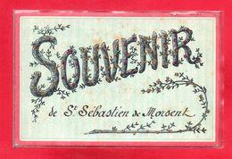 27-CPA SAINT-SEBASTIEN DE MORSENT - SOUVENIR - France
