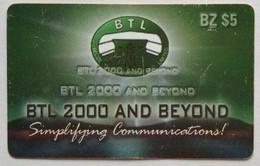 Belize  BTL 2000  Remote $5 - Belize
