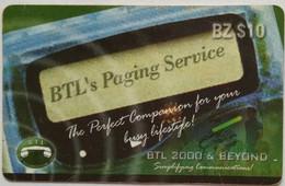 Belize $10 Paging - Belize