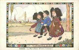 ILLUSTRATEURS.N°443.HANSI.LA MARSEILLAISE (D'APRES L'ESTAMPE) - Hansi