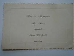 D156472  Engagement - Augusta AMREIN &  Ioan POP   -Turda  Torga  1925 - Fiançailles
