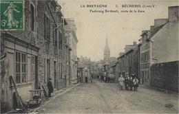 LA BRETAGNE - 3-BECHEREL - Faubourg Berthault,route De La Gare -ed. E L D - Bécherel