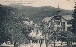 H24 - 74 - LE FAYET - Haute-Savoie - Hôtel Des Alpes - Thouvenin Propriétaire - Autres Communes