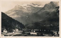 H24 - 74 - SERVOZ - Haute-Savoie - La Gare Et Le Vieux Servoz - Autres Communes