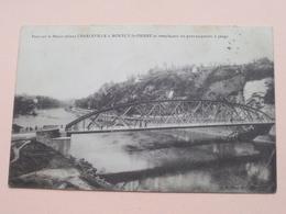 Pont Sur La Meuse Reliant CHARLEVILLE & MONTCY-St.-PIERRE Et Rempla ..... ( J. Winling ) Anno 1913 ( Voir Photo Svp ) !! - Charleville