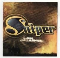 CD SNIPER Du Rire Aux Larmes  ( état Infime Rayures D Usage TB) - Rap & Hip Hop