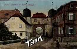 Cp Tann In Der Rhön In Osthessen, Oberes Stadttor, Straßenansicht - Otros