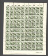 Rheinland-Pfalz,Nr.6,23.9.1947,B,gefaltet (M6) Franz.Zone-Bogen - Französische Zone