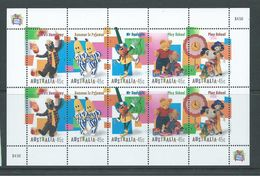 Australia 1999 Children's Television Characters Sheet Of 2 Strips Of 5 MNH - 1990-99 Elizabeth II