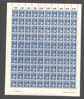 Rheinland-Pfalz,Nr.7a,2.10.1947,A,gefaltet (M6) Franz.Zone-Bogen - Französische Zone