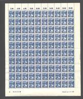 Rheinland-Pfalz,Nr.7a,3.10.1947,B,gefaltet (M6) Franz.Zone-Bogen - Französische Zone