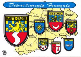 BLASON ECUSSON ADHESIF DE LA HAUTE SAONE VESOUL GY HERICOURT GRAY LURE - France