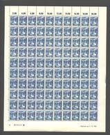 Rheinland-Pfalz,Nr.7a,4.10.1947,B,gefaltet (M6) Franz.Zone-Bogen - Französische Zone