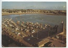 Erquy Tombée Du Jour Port Marée Basse Baie De Saint Brieuc (n°12310) - Erquy