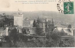 18 / 1 / 331     -     Lot   DE  5  CPA  &  CPSM  DU   CHÂTEAU  DE   BONAGUIL  ( 47 ) Toutes Scanées - Postcards