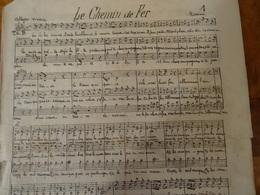 Partition Ancienne PF Le Chemin De Fer (chanson à La Gloire Du Chemin De Fer à Vapeur) - Partitions Musicales Anciennes