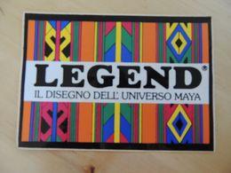 X Adesivo Stiker Etiqueta Tuning LEGEND - Unclassified