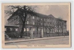 39117751 - Krefeld. Staedtisches Krankenhaus. Feldpost Kleiner Knick Unten Links Und Rechts, Leicht Fleckig, Sonst Gut - Krefeld