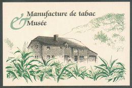 TABAC Belgique - Carte De Visite  VINCENT MANIL Manufacture De Tabac Musée Planteur Et Fabricant Rue Du Tambour à CORBIO - Visiting Cards